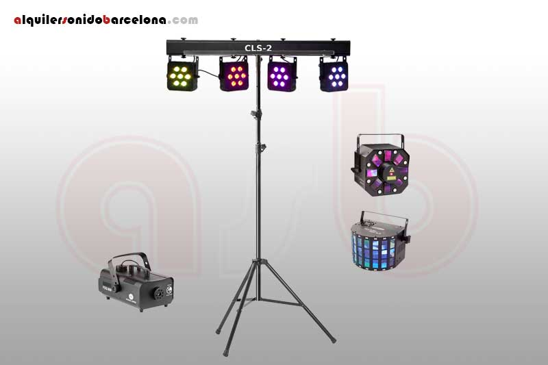 Pack Luces Disco 2