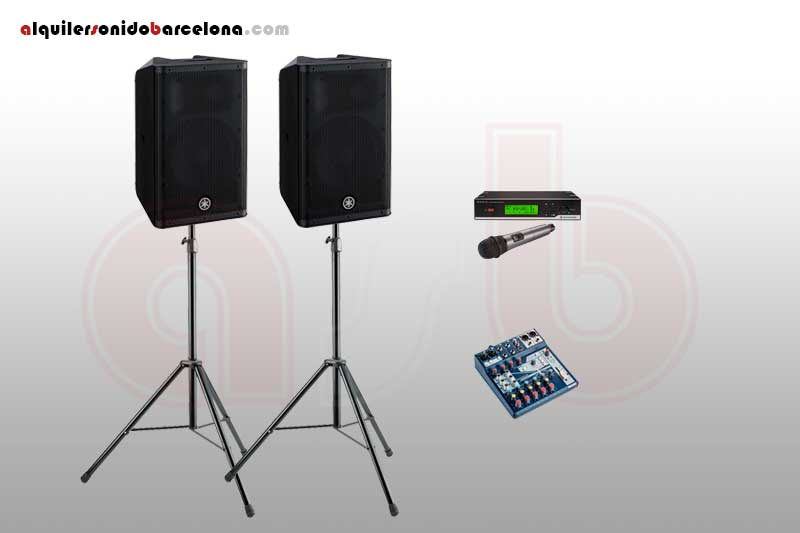 Pack Sonido 1400W